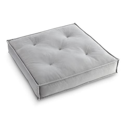 Victoria Velvet 24 Inch Decorative Floor Pillow