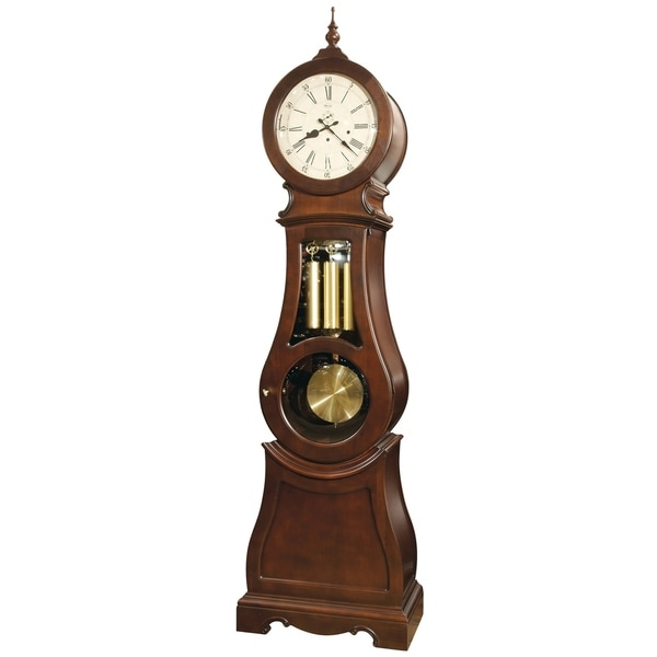 Ridgeway Broman Transitional Grandfather Style Chiming Floor Clock