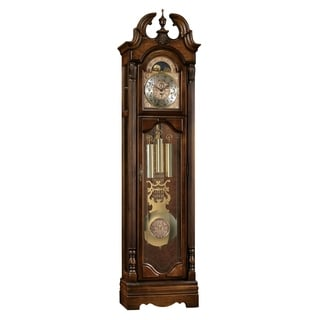 Ridgeway Archdale Traditional, Elegant, Antique Design, Grandfather Style Chiming Floor Clock with Pendulum and Movements
