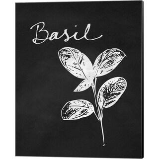 Linda Woods 'Basil' Canvas Art