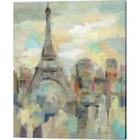Silvia Vassileva 'Paris Impression' Canvas Art