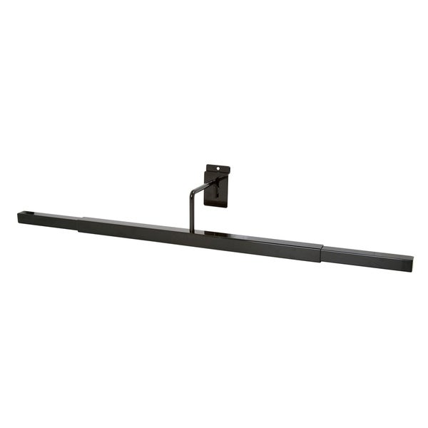 Econoco - EBL/T - Adjustable Black Scarecrow Display for Slatwall Sold in Pack of 6