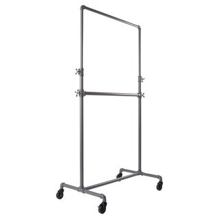 Econoco Commercial Pipeline Add-On-Hangbar for 41inch Pipe Racks
