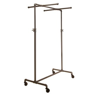 Econoco Pipeline Adjustable Ballet Rack with Two Cross Bars