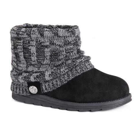 MUK LUKS Womens Patti Short Boots