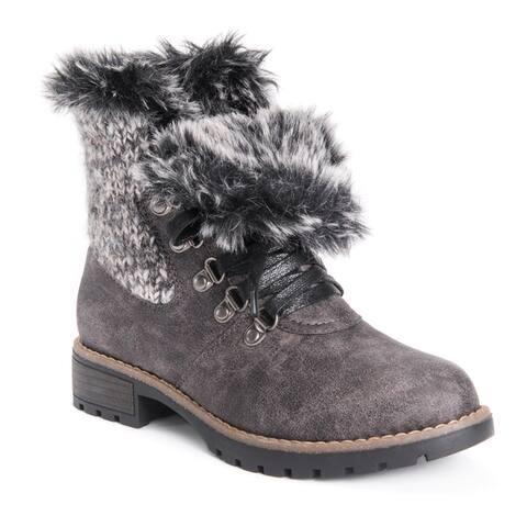 MUK LUKS Womens Verna Boots