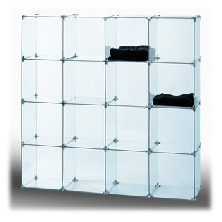 """10"""" x 10"""" Tempered Glass (10 PACK) CONNECTORS SOLD SEPARATELY"""