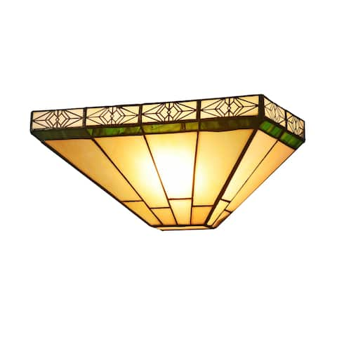Tiffany Style 1-light Wall Sconce