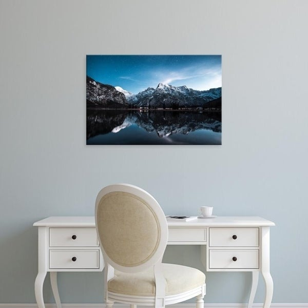 shop easy art prints kevin h s reflection premium canvas art