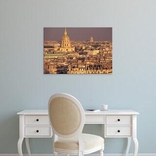 Easy Art Prints David Barnes's 'Paris, Les Invalides and Panthenon' Premium Canvas Art
