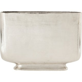Strick & Bolton Aluminum/ Raw Nickel Vase
