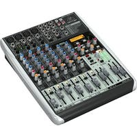 Behringer QX1204USB 12-Input 2/2-Bus USB Audio Interface Mixer w/ XENYX Mic Preamps, Compressors and Multi-FX