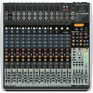 Behringer QX2442USB 24 Input 4/2 Bus USB Interface Mixer w/ XENYX Mic Preamp - N/A