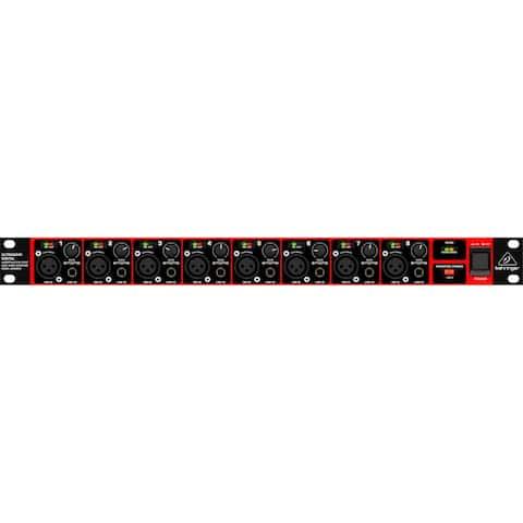 Behringer Ultragain Digital ADA8200 Audiophile 8 In/8 Out ADAT Audio Interface w/Midas Mic Preamps