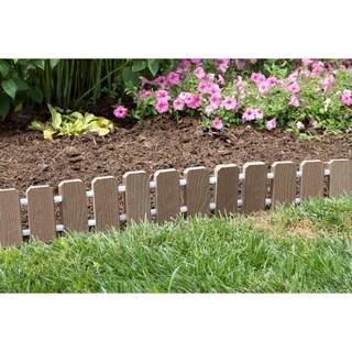 Garden Edging -Evergrain® Composite No Dig Roll Up Flower Bed Edges