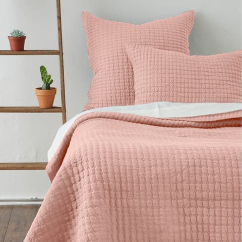 Katalina Pink Quilt & Sham
