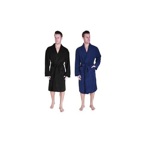 Cherokee Men's Polar Fleece Robe