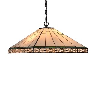 Chloe 2-light Tiffany Blackish Bronze Pendant