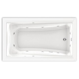 American Standard Green Tea 66 Inch by 36 Inch EcoSilent Whirlpool 3572.048WC.020 White