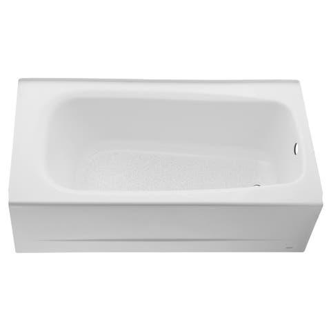American Standard Cambridge 60 Inch by 32 Inch Integral Apron Bathtub 2460.002TC.020 White