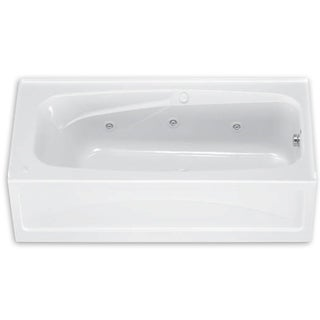 American Standard Colony 66 Inch by 32 Inch Whirlpool with Apron 1748.218.020 White