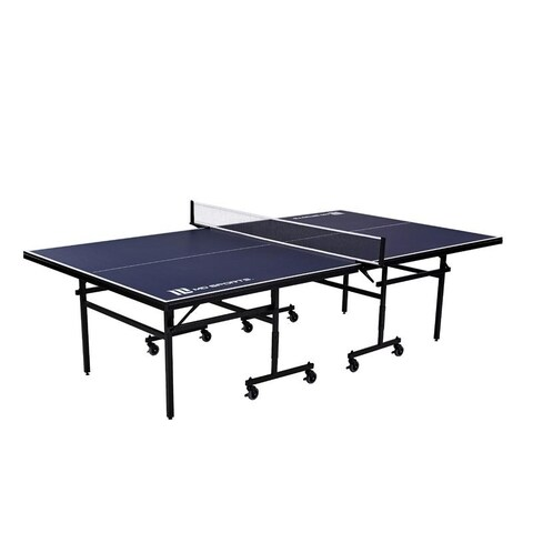 MD Sports - Official Size Quick Assembly Table Tennis Table - Blue