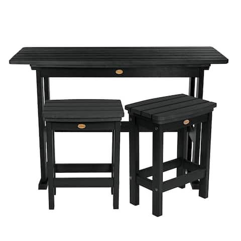 Mandalay 3-piece Counter-height Balcony Set by Havenside Home