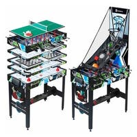 MD Sports 48 inch 12-in-1 Multi-Game Table