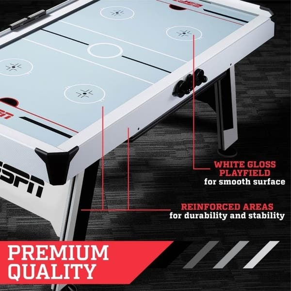 Espn 72 Inch Air Hockey And Table Tennis Table Overstock 22898152