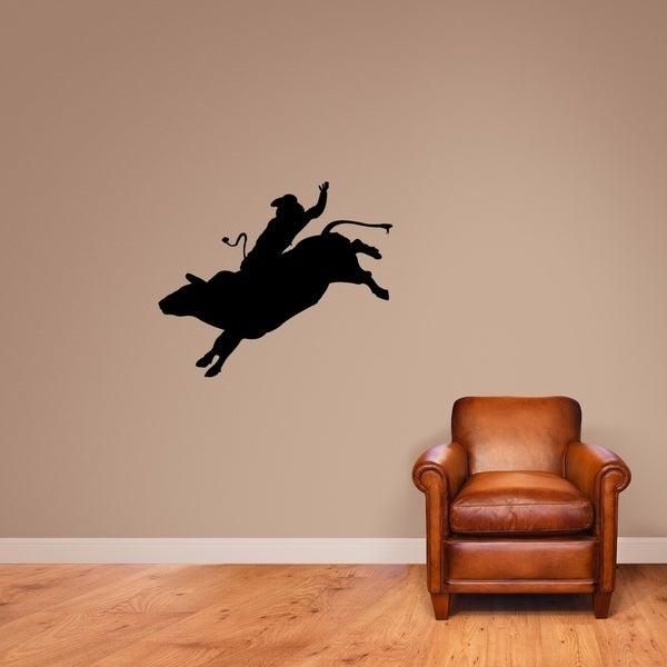 Bull Rider Wall Decal - MEDIUM
