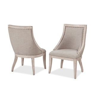 Graphite Upholstered Side Chairs by Panama Jack (Set of 2)
