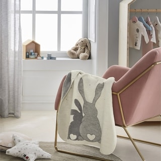 Link to IBENA 'Best Bunny Friends' Baby Blanket Similar Items in Baby Blankets
