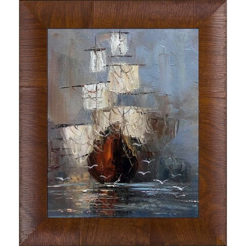 Justyna Kopania 'Nostalgy' Hand Painted Oil Reproduction