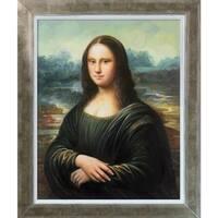 Leonardo da Vinci 'Mona Lisa' Hand Painted Oil Reproduction