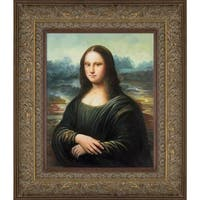 Leonardo da Vinci 'Mona Lisa' Hand Painted Oil Reproduction