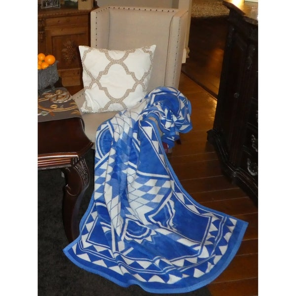 IBENA Quilting Star Throw Blanket