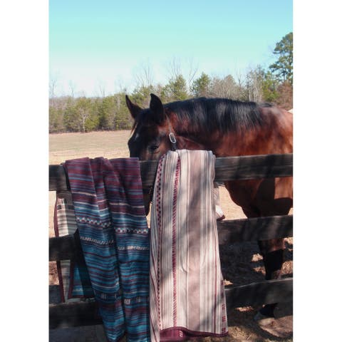 IBENA Throw Saddle Blanket Style
