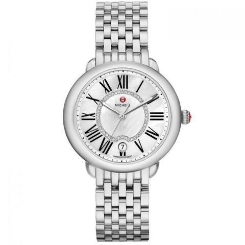 Sire Diamond Dial Watch