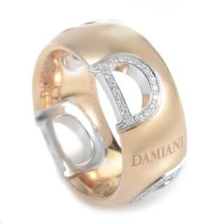 Damiani D.Icon Rose & White Gold Diamond Band Ring 20047336