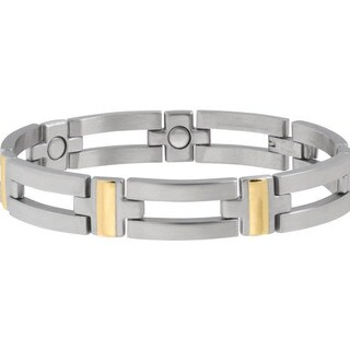 Sabona Executive Crossbar Duet Magnetic Bracelet