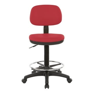 WorkSmart Upholstered Drafting Chair