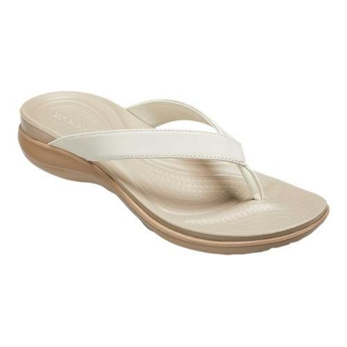 47f7b5181 Shop Women s Crocs Capri V Sequin Thong Sandal Rose Gold - Free Shipping On  Orders Over  45 - Overstock - 19426299