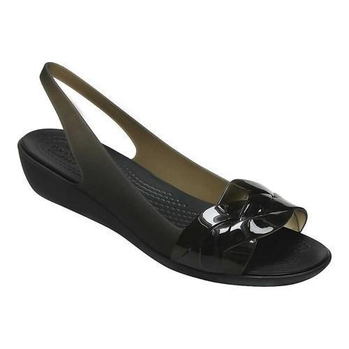 Women's Crocs Isabella Slingback Black/Black