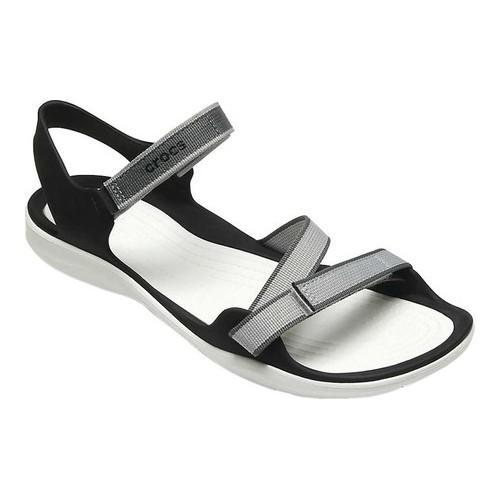 466974665971 Shop Women s Crocs Swiftwater Webbing Sandal Pearl White - Free Shipping On  Orders Over  45 - Overstock - 19426315