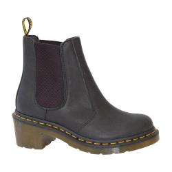 Women's Dr. Martens Cadence Chelsea Boot Black Greasy