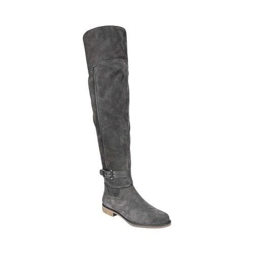 ac989fd355a Shop Women s Franco Sarto Crimson Wide Calf Over The Knee Boot Peat  Leather Polyurethane - Free Shipping Today - Overstock.com - 19426600