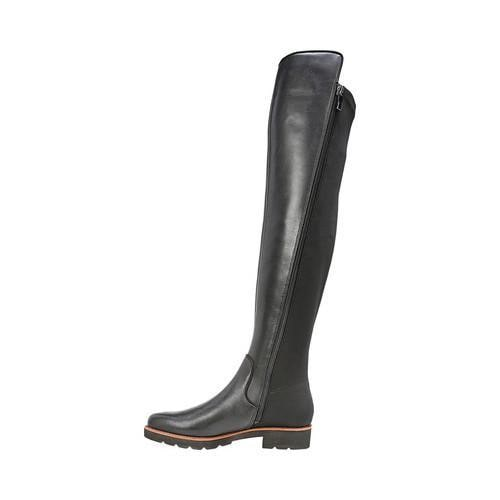 d8b7e10f833 ... Thumbnail Women  x27 s Franco Sarto Benner Over the Knee Boot Black  Smooth Leather