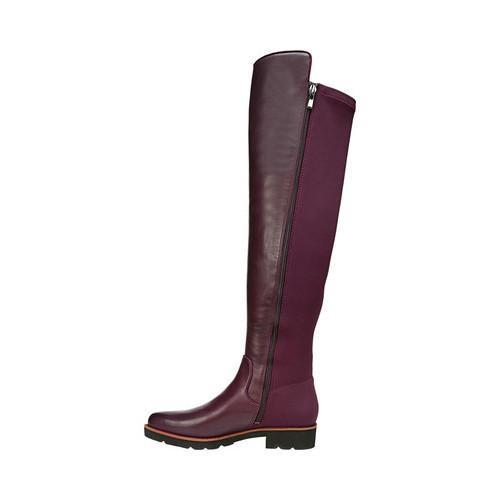 41ad848ca37 ... Thumbnail Women  x27 s Franco Sarto Benner Over the Knee Boot Dark  Burgundy Leather