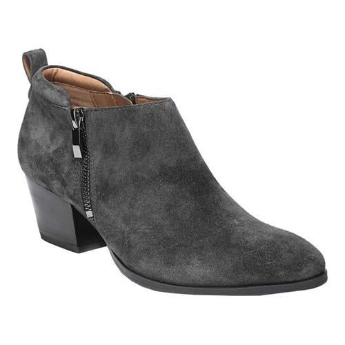 2c791fb2217b Shop Women s Franco Sarto Granite Bootie Coal Leather - Free Shipping Today  - Overstock.com - 19426679