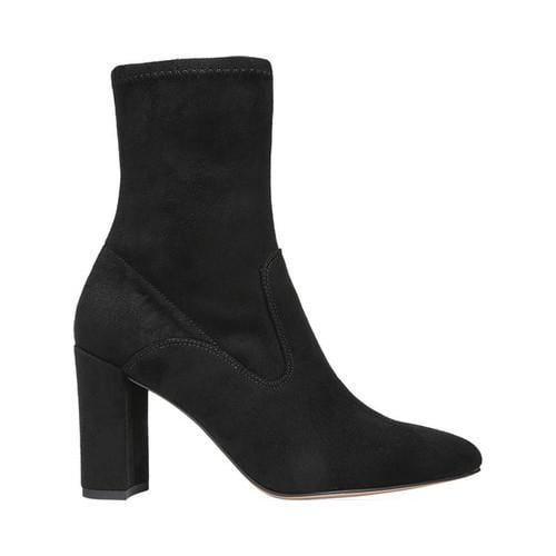 Women's Franco Sarto Fancy Bootie Black Fabric - Free Shipping Today -  Overstock.com - 25431161